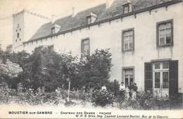 Moustier-sur-Sambre NA9: Château Des Dames. Façade 1910 - Jemeppe-sur-Sambre