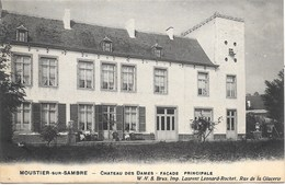 Moustier-sur-Sambre NA10: Château Des Dames. Façade Principale 1910 - Jemeppe-sur-Sambre