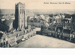 CPA - Belgique - Veurne - Furnes - Panorama - Veurne