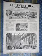 L' ILLUSTRATION 28/09/1861 ITALIE FLORENCE RUSSIE LEONTIUS CHINE MACAO ANVERS LITHUANIE THONON HAUTE SAVOIE TOULON - Periódicos