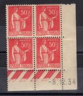 FRANCE COIN DATE N° 283 (1934) ** NEUF. VOIR - France