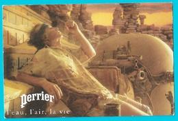 Carte Photo Perrier Pour Film  McEnroe  De Ridley Scott- L Eau ,l Air ,la Vie Cinéma - Publicité