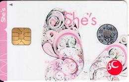 "SOUTH KOREA - She""s, BC Bank Card, Sample - Geldkarten (Ablauf Min. 10 Jahre)"