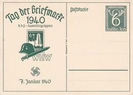 Ganzsache Tag Der Briefmarke 1940 - KdF-Sammlergruppen WHW  (40283) - Germania