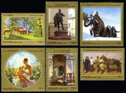 2012 Mi 1845-1850 Russia Rußland Rusland Russie Rusia Modern Art. Painting MNH ** - 1992-.... Fédération