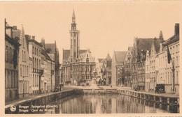 CPA - Belgique - Brugge - Bruges - Quai Du Miroir - Brugge