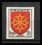 France N°603 Armoiries De Provinces. Languedoc Non Dentelé ** MNH (Imperforate) - France