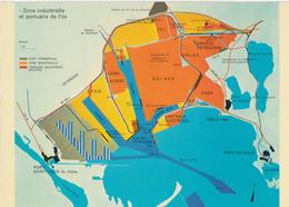 13) FOS-SUR-MER - Plan Zone Industrielle Et Portuaire - France