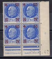 FRANCE COIN DATE N° 552 (1942) ** NEUF. VOIR - France