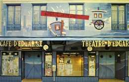 Café Et Théâtre D'Edgar - 58 Blvd Edgar-Quinet 75014 Paris Fondé En 1973 Par Alain MALLET - Arrondissement: 14