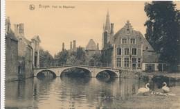 CPA - Belgique - Brugge - Bruges - Pont Du Béguinage - Brugge