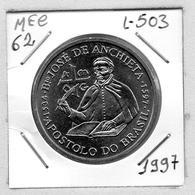 MEC 62 - / Portugal / Commémoratives 200 Escudos 1997 / José De Anchieta / - L-503 - Portugal