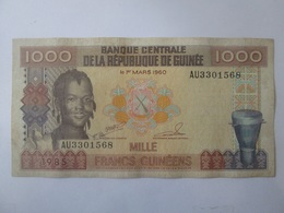 Guinea/Guinee 1000 Francs 1985 Banknote - Guinea