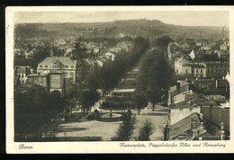 Bonn Am Rhein Kaiserplatz Poppelsdorfer Allee Und Kreuzberg 1927 Wilhelm KÖhler - Bonn