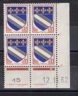 FRANCE COIN DATE N° 1353 (1962) ** NEUF. VOIR - France