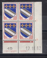 FRANCE COIN DATE N° 1353 (1962) ** NEUF. VOIR - Frankreich
