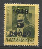 Hungary 1945. Scott #691 (M) Francis II Ràkòczy * - Hongrie