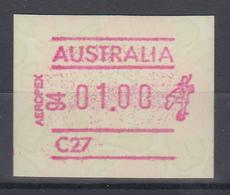 Australien Frama-ATM Waratah-Blume Sonderausgabe AEROPEX 94  ** - ATM/Frama Labels