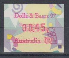 "Australien Frama-ATM ""Festive Frama""  Sonderausgabe Dolls & Bears 97  ** - Vignettes D'affranchissement (ATM/Frama)"
