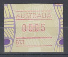 Australien Frama-ATM Aboriginal-Art Mit Automatennummer B13 ** - ATM/Frama Labels