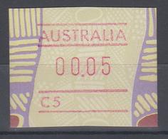 Australien Frama-ATM Aboriginal-Art Mit Automatennummer C5 ** - ATM/Frama Labels