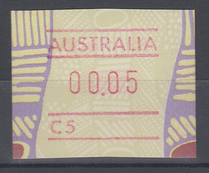 Australien Frama-ATM Aboriginal-Art Mit Automatennummer C5 ** - Vignette Di Affrancatura (ATM/Frama)