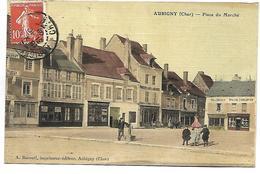 AUBIGNY - Place Du Marché - Aubigny Sur Nere