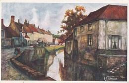 Dixmude, Canal De Handzaeme (pk58333) - Diksmuide