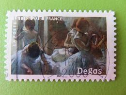 "Timbre France YT 3873 (N° 81) - Art - Peinture - ""Danseuses"" D'Edgar Degas - 2006 - Cachet Rond - Sellos Autoadhesivos"