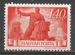 Hungary 1945. Scott #716 (M) ''Reconstruction'' * - Hongrie