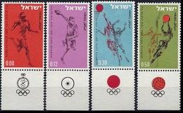1964Israel304-3071964 Olympiad Tokio - Sommer 1964: Tokio