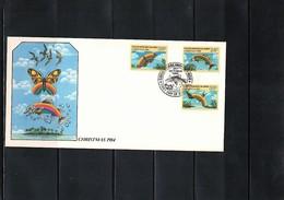 Cocos ( Keeling) Islands 1984 Christmas FDC - Kokosinseln (Keeling Islands)