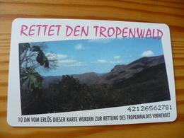 Phonecard Germany O 372 11.92  10.000 Ex. - Rettet Den Tropenwald - Allemagne