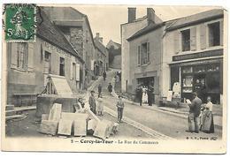 CERCY LA TOUR - La Rue Du Commerce - France