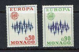 MONACO...1972...mh - Unused Stamps