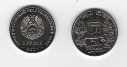 Transnistria - 3 Rubles 2018 UNC 445 Years Old With Chobruchi  Lemberg-Zp - Moldova