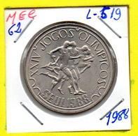 MEC 62 - / Portugal / Commémoratives 250 Escudos 1988 / XXIV Jogos Olimpicos Seul / - L-519 - Portugal