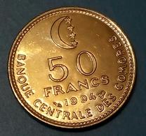 COMOROS, Islamic Republic - 50 Francs - 1994 - KM 16 - UNC - Agouz - Comoros