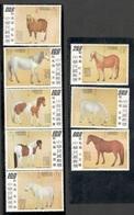 TAIWAN1973:HORSES  Michel987A-94A Mnh** Cat.Value25Euros($28) - 1945-... República De China