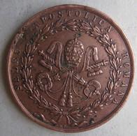 Medaille Vatican . Sedes Apostolica Romana . Pie IX . 1849 - Religion &  Esoterik