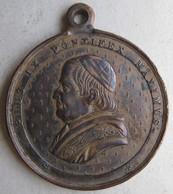 Médaille PIE IX- PIO IX  . L'Immaculée . O Maria Sine Labe Concepta 1830 - Religion & Esotericism