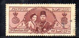 XP4651 - EGITTO 1938 , Fouad I° Yvert N. 202  Usato (2380A) - Egitto