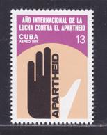 CUBA AERIENS N°  303 ** MNH Neuf Sans Charnière, TB (D8767) Lutte Contre L'Apartheid - 1978 - Unused Stamps