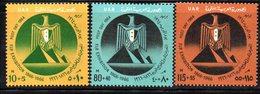 XP4655 - EGITTO 1964 ,   Yvert N. 593/595  *** (2380A) - Egitto