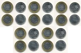 Venezuela - 5 Pcs X 50 Centimos + 1 Bolivar SOBERANO 2018 UNC Lemberg-Zp - Venezuela