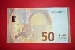 50 EURO M007 C2 - PORTUGAL - M007C2 - MD1906483157 - DRAGHI - UNC - NEUF - FDS - EURO