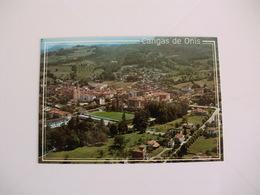 Postcard Postal Cangas De Onis Vista Aérea - Asturias (Oviedo)