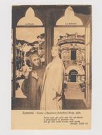 RAVENNA, Dante E Beatrice, Con Dietro Pineta E La Rotonda  - F.p. - Anni '1900 - Ravenna