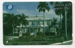 JAMAIQUE REF MV CARDS JAM-18B 20$ Annee 1994 CN : 18JAMB Devon House - Jamaica