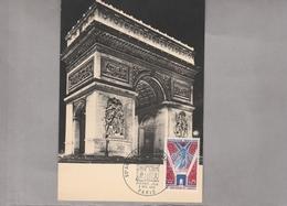 1968 - Carte Maximum - Arc De Triomphe - YT 1576 - 1960-69